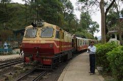 Treno Shimla del giocattolo Fotografie Stock Libere da Diritti