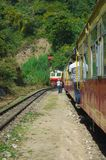 Treno Shimla del giocattolo Fotografia Stock Libera da Diritti