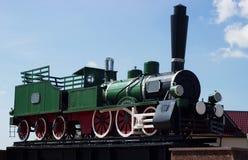 Treno storico del vapore Fotografie Stock Libere da Diritti