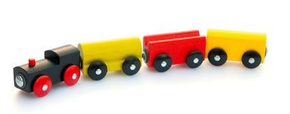 Treno su bianco Immagine Stock Libera da Diritti