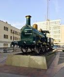 Treno su esposizione Fotografia Stock