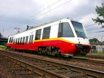 Treno suburbano Fotografie Stock