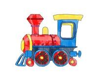 Treno sveglio Fotografia Stock