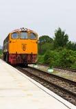 Treno tailandese Immagine Stock Libera da Diritti