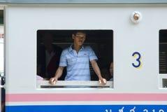 Treno Tailandia fotografie stock