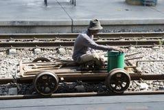 Treno Tailandia fotografia stock