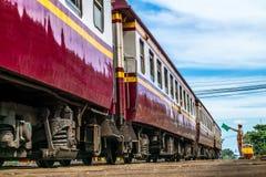 Treno in Tailandia Immagine Stock Libera da Diritti