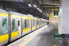 Treno a Tokyo fotografie stock libere da diritti