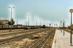 Treno Tunisia fotografia stock