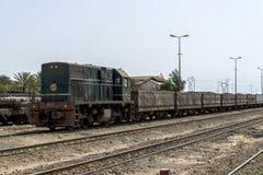Treno Tunisia Immagini Stock Libere da Diritti