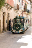 Treno turistico Fotografie Stock