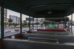Treno turistico in Susa fotografia stock libera da diritti