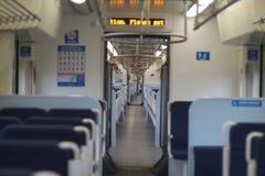 Treno urbano Fotografie Stock