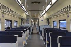 Treno urbano Immagini Stock