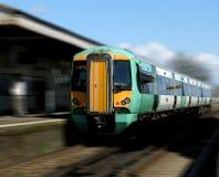 Treno urbano fotografia stock libera da diritti