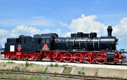 Treno a vapore Immagine Stock Libera da Diritti