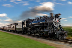 treno a vapore immagine stock