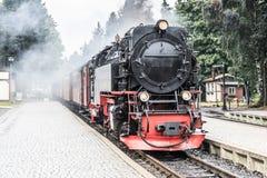 Treno a vapore d'annata Immagine Stock Libera da Diritti