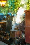 Treno a vapore di soffio di Billy fotografia stock