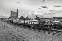 Treno a vapore Hoorn Fotografia Stock Libera da Diritti