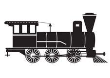 Treno/vapore-motore Fotografia Stock Libera da Diritti