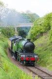 Treno a vapore, Scozia Immagine Stock