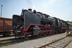 Treno a vapore tedesco storico 06-018 Immagine Stock
