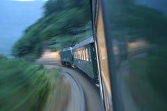 Treno veloce fotografie stock