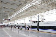 Treno veloce cinese Fotografia Stock