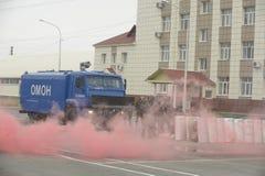 Trenować rosjanin policja zmusza specjalne pacnięcie Zdjęcie Royalty Free