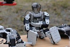Trenować i budowa robotyka Fotografia Royalty Free