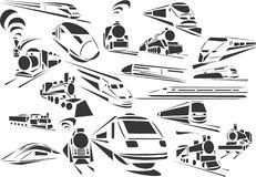 Trens Imagens de Stock Royalty Free