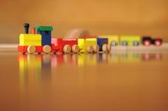 Trens do brinquedo Imagens de Stock