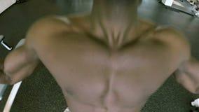 Trens do homem no gym filme