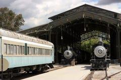 Trens do vintage Fotografia de Stock Royalty Free
