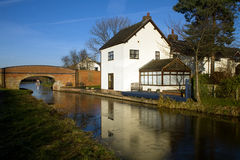 Trent And Mersey Canal Stock Photography