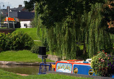 Trent and Mersey Canal Stock Image