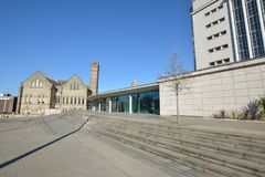 Trent University de Nottingham em Inglaterra - Europa fotografia de stock royalty free