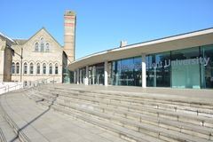 Trent University Nottingham en Inglaterra - Europa Imágenes de archivo libres de regalías