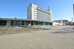 Trent University Nottingham i England - Europa arkivfoton