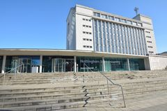 Trent University Nottingham in Inghilterra - Europa immagine stock