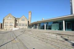 Trent University Nottingham in Inghilterra - Europa fotografie stock