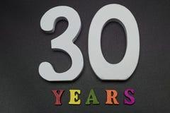 Trenta anni Fotografia Stock Libera da Diritti