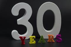 Trenta anni Immagini Stock Libere da Diritti
