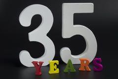 Trentacinque anni Fotografia Stock