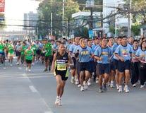 trentacinquesimi Maratona Filippine del Milo Fotografia Stock
