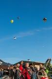 trentacinquesimo festival del pallone di aria calda 2013, Svizzera Fotografia Stock