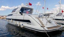 trentaduesimi Costantinopoli internazionale Boatshow Fotografie Stock Libere da Diritti