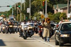 trentaquattresimi Parata annuale di giorno di ringraziamento di WinterNational Fotografie Stock Libere da Diritti