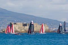 trentaquattresimi Serie di mondo della tazza dell'America 2012 a Napoli immagini stock